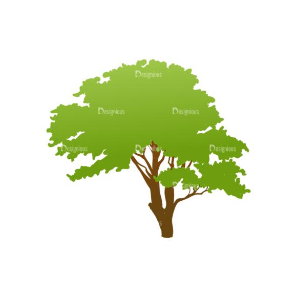 Trees Green Vector Tree 08 trees green vector tree 08