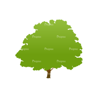 Trees Green Vector Tree 20 Clip Art - SVG & PNG tree