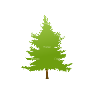 Trees Green Vector Tree 25 Clip Art - SVG & PNG tree