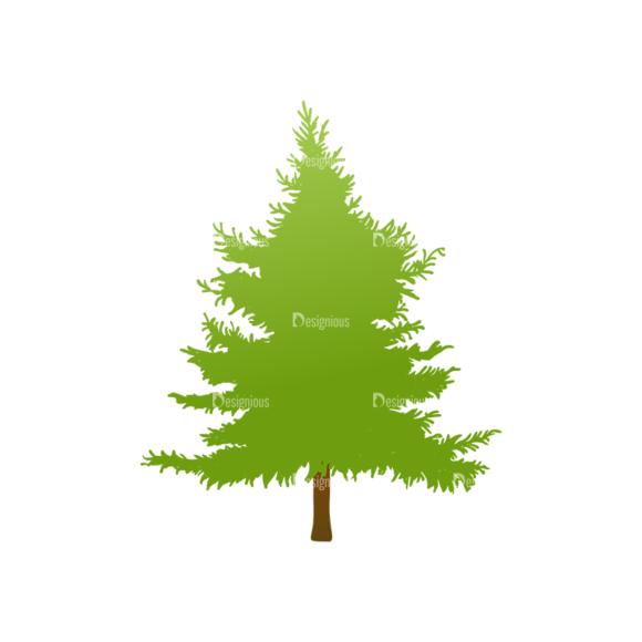 Trees Green Vector Tree 25 Clip Art - SVG & PNG tree