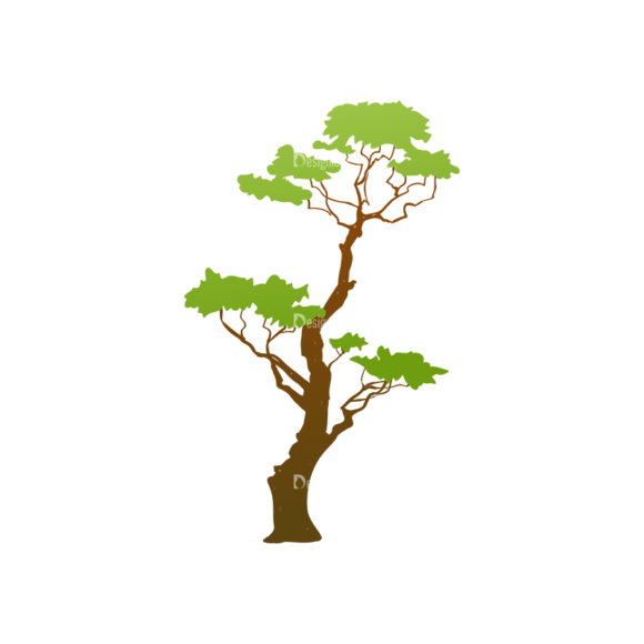 Trees Green Vector Tree 27 Clip Art - SVG & PNG tree