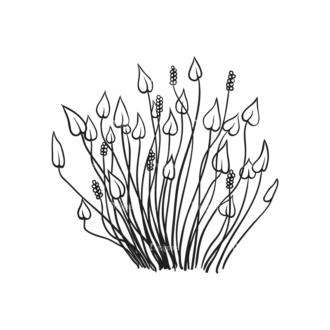 Tropical Plants Vector 1 6 Clip Art - SVG & PNG tropical