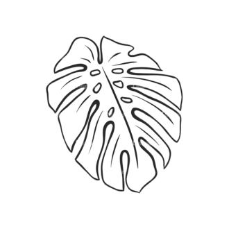 Tropical Plants Vector 2 12 Clip Art - SVG & PNG tropical