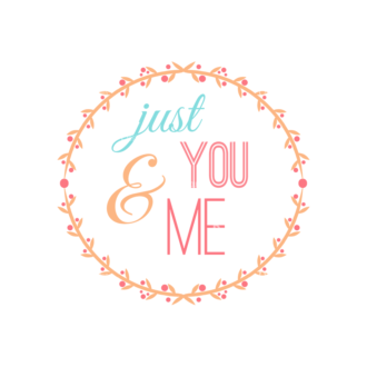Valentine S Day Vector Set 5 Vector You And Me Clip Art - SVG & PNG vector