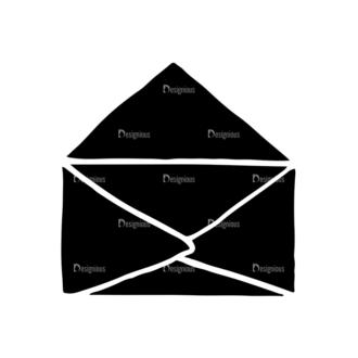 Valentine'S Day Elements Set 1 Vector Letter Clip Art - SVG & PNG vector