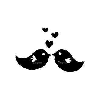 Valentine'S Day Set 20 Vector Birds Clip Art - SVG & PNG vector