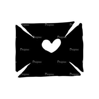 Valentine'S Day Set 20 Vector Letter Clip Art - SVG & PNG vector