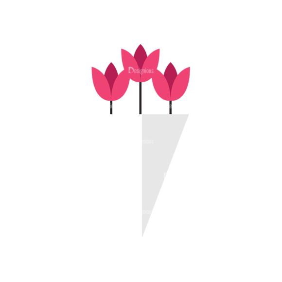 Valentines Day Symbols Vector Set 3 Vector Flowers valentines day symbols vector set 3 vector flowers