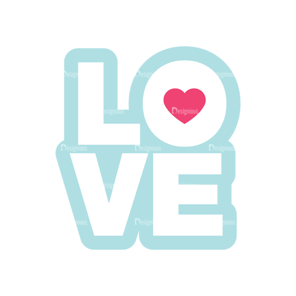 Valentines Day Symbols Vector Set 3 Vector Love valentines day symbols vector set 3 vector love