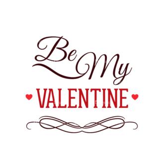 Valentines Day Typographic Elements Vector Valentines 05 Clip Art - SVG & PNG vector