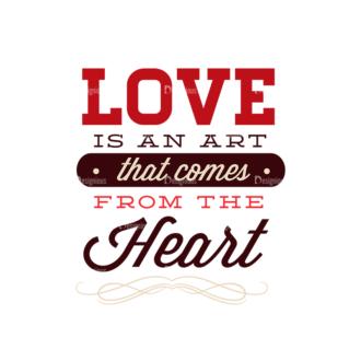 Valentines Day Typographic Elements Vector Valentines 06 Clip Art - SVG & PNG vector