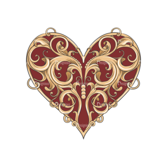 Valentines Vector 1 6 Preview Clip Art - SVG & PNG vector