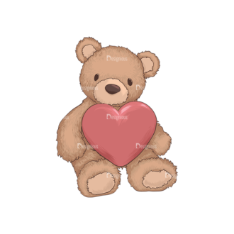 Valentines Vector 2 5 Preview Clip Art - SVG & PNG vector