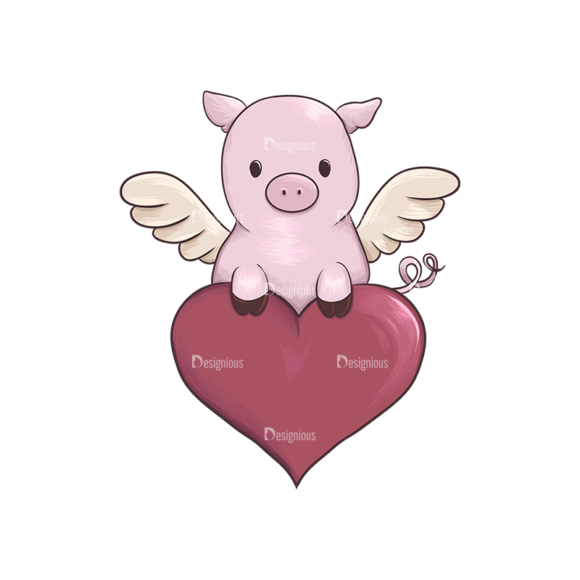 Valentines Vector 2 6 Preview Clip Art - SVG & PNG vector