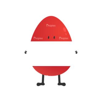 Vector Bunnies And Eggs Vector Bunnies Egg 01 Clip Art - SVG & PNG vector
