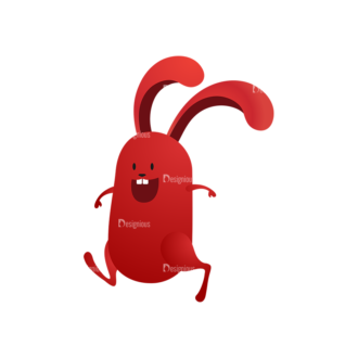 Vector Bunnies And Eggs Vector Bunnies Egg 09 Clip Art - SVG & PNG vector