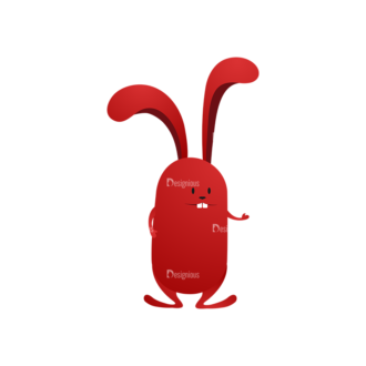Vector Bunnies And Eggs Vector Bunnies Egg 10 Clip Art - SVG & PNG vector