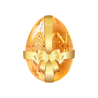 Vector Easter Elements 1 Vector Eater Egg 01 Clip Art - SVG & PNG vector