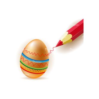 Vector Easter Elements 1 Vector Eater Egg 05 Clip Art - SVG & PNG vector