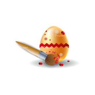 Vector Easter Elements 1 Vector Eater Egg 06 Clip Art - SVG & PNG vector