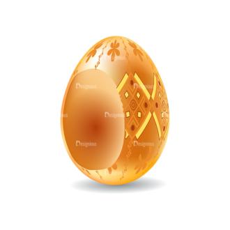 Vector Easter Elements 1 Vector Eater Egg 07 Clip Art - SVG & PNG vector