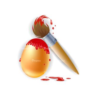 Vector Easter Elements 1 Vector Eater Egg 10 Clip Art - SVG & PNG vector