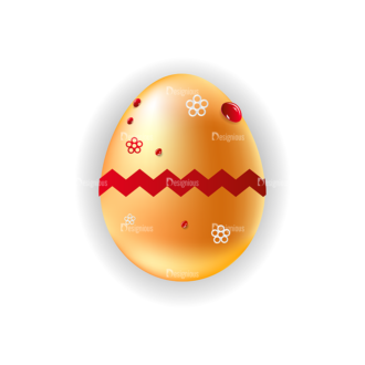 Vector Easter Elements 1 Vector Eater Egg 16 Clip Art - SVG & PNG vector