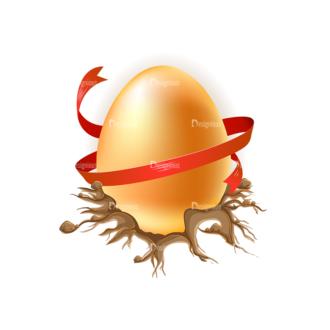 Vector Easter Elements 1 Vector Eater Egg 17 Clip Art - SVG & PNG vector