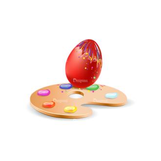 Vector Easter Elements 1 Vector Eater Egg 20 Clip Art - SVG & PNG vector