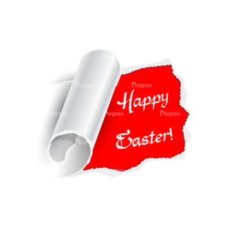 Vector Easter Elements 2 Vector Happy Easter 04 Clip Art - SVG & PNG vector