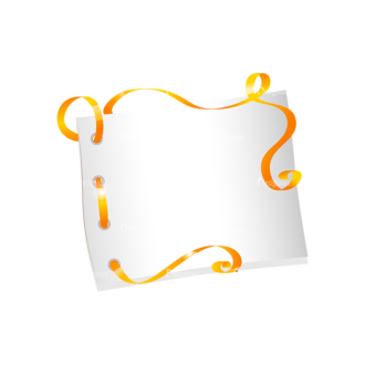 Vector Easter Elements 2 Vector Paper Clip Art - SVG & PNG vector