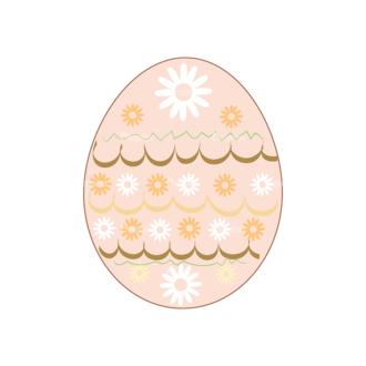Vector Easter Elements 4 Vector Easter Egg 05 Clip Art - SVG & PNG vector
