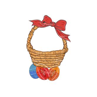 Vector Easter Elements 4 Vector Easter Egg 12 Clip Art - SVG & PNG vector