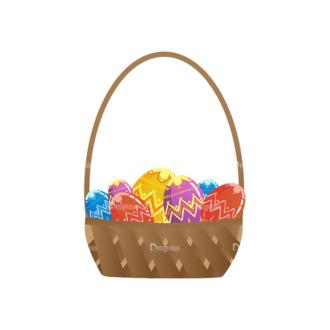 Vector Easter Elements 4 Vector Easter Eggs 09 Clip Art - SVG & PNG vector