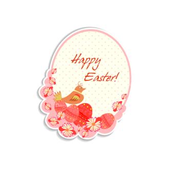 Vector Easter Elements 4 Vector Happy Easter Clip Art - SVG & PNG vector