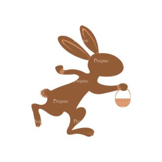 Vector Easter Elements 5 Vector Buuny 14 Clip Art - SVG & PNG vector