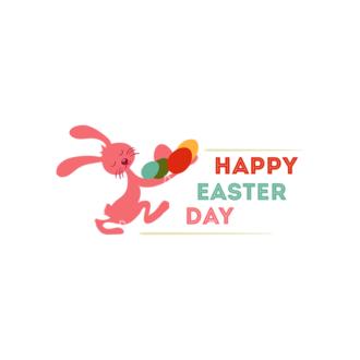 Vector Easter Elements 6 Vector Happy Easter 04 Clip Art - SVG & PNG vector