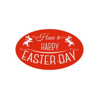 Vector Easter Elements 6 Vector Happy Easter 07 Clip Art - SVG & PNG vector