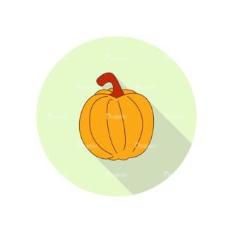 Vector Farming Vector Set 7 Pumpkin Clip Art - SVG & PNG vector