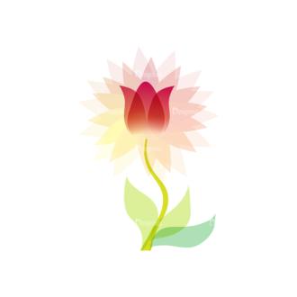 Vector Floral Ornaments 4 Vector Flower 03 Clip Art - SVG & PNG floral