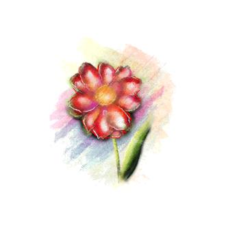 Vector Floral Ornaments 5 Vector Flower 03 Clip Art - SVG & PNG floral