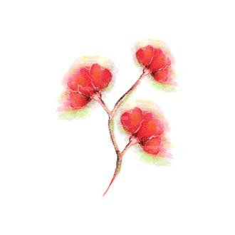 Vector Floral Ornaments 5 Vector Flower 05 Clip Art - SVG & PNG floral