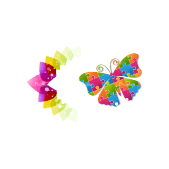 Vector Floral Ornaments 7 Vector Butterfly 02 Clip Art - SVG & PNG floral