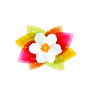 Vector Floral Ornaments 7 Vector Flower Clip Art - SVG & PNG floral