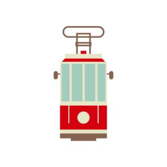 Vienna Vector Cable Car Clip Art - SVG & PNG vector