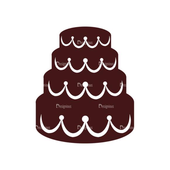 Wedding Vector Elements Set 1 Vector Cake 1