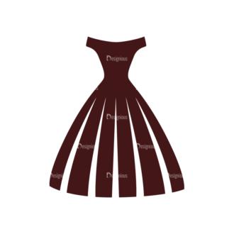 Wedding Vector Elements Set 1 Vector Dress Clip Art - SVG & PNG vector