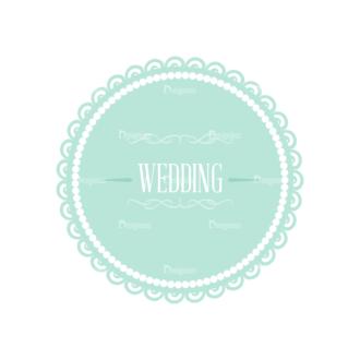 Wedding Vector Set 2 Vector Badges 05 Clip Art - SVG & PNG vector