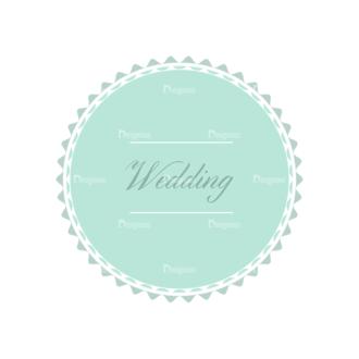 Wedding Vector Set 2 Vector Badges 08 Clip Art - SVG & PNG vector