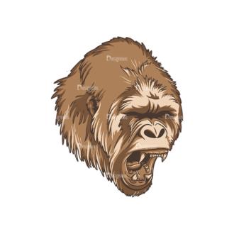 Wild Animals 2 2 Clip Art - SVG & PNG vector